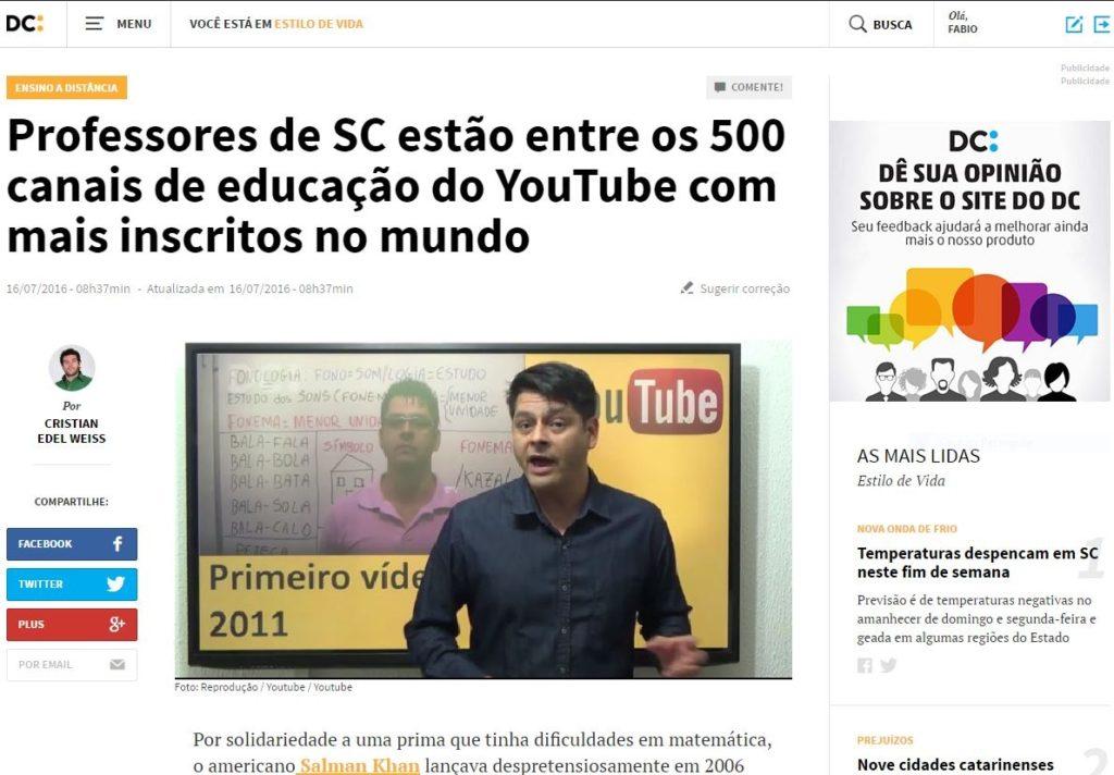 Diário Catarinense RBS-SC